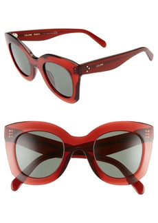 CELINE 47mm Cat Eye Sunglasses