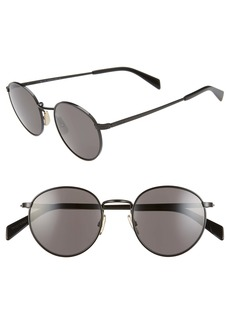 CELINE 50mm Round Sunglasses