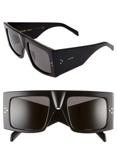 CELINE 51mm Flat Top Sunglasses
