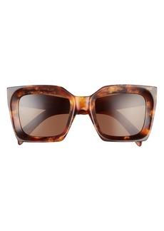 CELINE 51mm Square Sunglasses