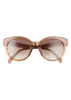 CELINE 54mm Gradient Round Sunglasses