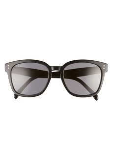 CELINE 55mm Polarized Cat Eye Sunglasses