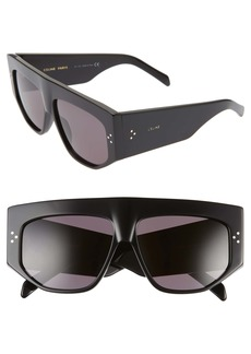 CELINE 59mm Flat Top Sunglasses