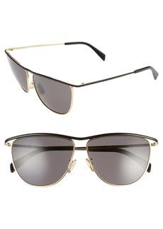 CELINE 60mm Aviator Sunglasses