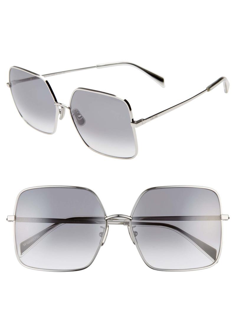 ec52667db24e Celine CELINE 60mm Gradient Square Sunglasses   Sunglasses