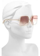 979120147fef CELINE 60mm Gradient Square Sunglasses CELINE 60mm Gradient Square  Sunglasses ...