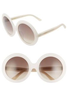 CELINE 61mm Round Sunglasses