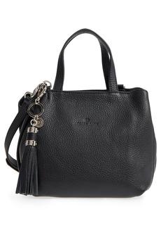 Celine Dion Mini Mezzo Leather Satchel