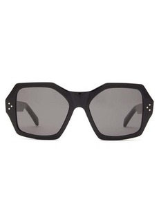 Celine Eyewear Angular acetate sunglasses