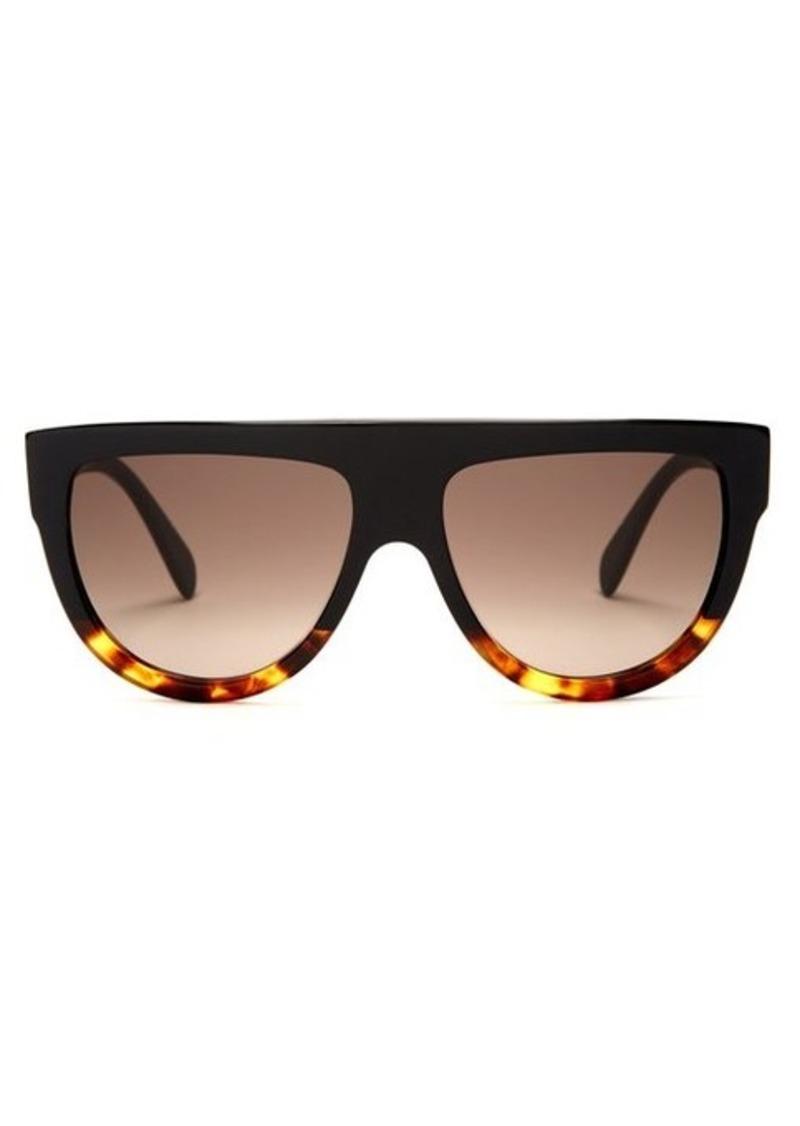 Celine Eyewear D-frame acetate sunglasses