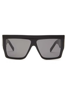 Celine Eyewear Flat-top acetate sunglasses