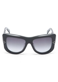 Celine Eyewear Oversized D-frame acetate sunglasses