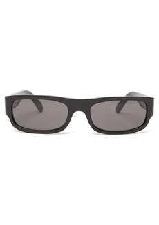 Celine Eyewear Rectangular acetate sunglasses
