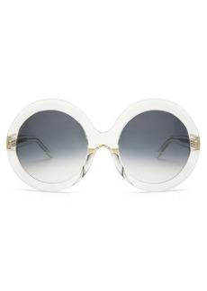 Celine Eyewear Round acetate sunglasses