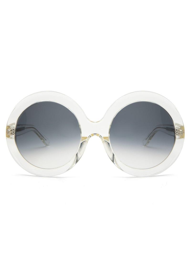 0cfa55c02a Celine Celine Eyewear Round acetate sunglasses