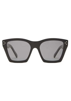 Celine Eyewear Square-frame acetate sunglasses