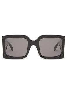 Celine Eyewear Wide-arm square acetate sunglasses