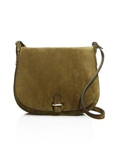 Celine Lefebure Emma Suede Saddle Bag - 100% Exclusive