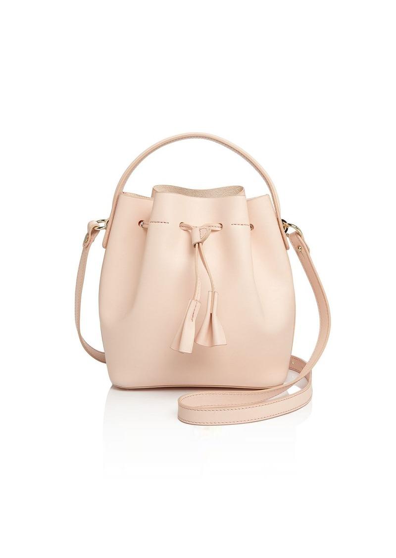 Celine Celine Lefebure Karin Mini Leather Bucket Bag - 100 ... 45af97851e89a