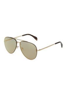 Celine Metal Aviator Sunglasses