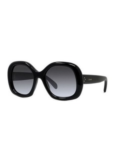 Celine Oversized Round Acetate Sunglasses