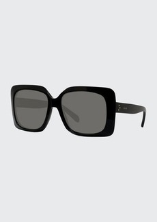 Celine Oversized Square Acetate Adjusted-Fit Sunglasses