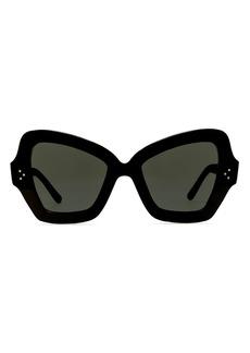 CELINE Women's Butterfly Sunglasses, 54mm