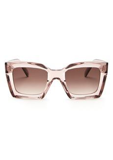 CELINE Women's Square Sunglasses, 51mm