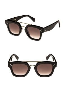 Celine Céline 47mm Gradient Square Sunglasses