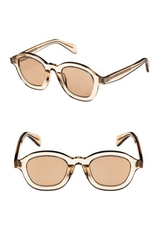 Celine Céline 47mm Round Sunglasses