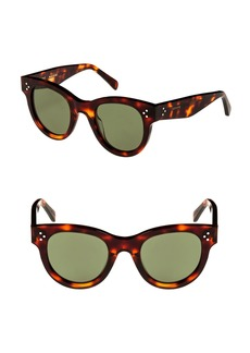 Celine Céline 48mm Cat Eye Sunglasses