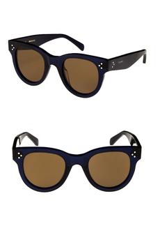 Celine Céline 48mm Round Sunglasses