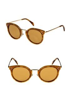 Celine Céline 49mm Round Sunglasses