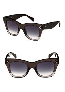 Celine Céline 50mm Gradient Butterfly Sunglasses