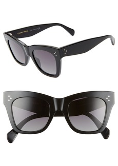 CELINE 50mm Square Sunglasses