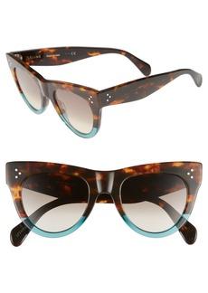 Celine Céline 51mm Cat Eye Sunglasses