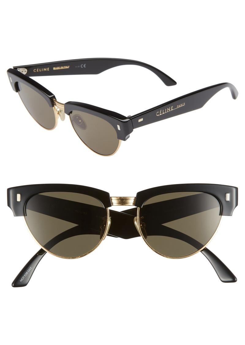 4fc33c10b37 Celine CELINE 51mm Modified Cat Eye Sunglasses