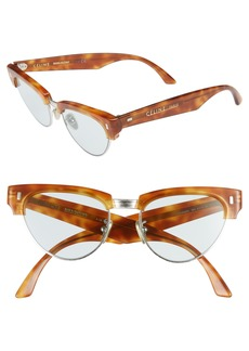 Celine Céline 51mm Modified Cat Eye Sunglasses