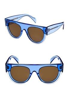 Celine Céline 51mm Pilot Sunglasses