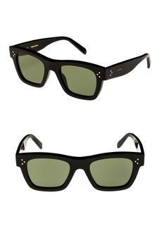 Celine Céline 51mm Rectangle Sunglasses