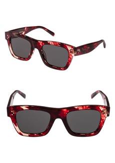 Celine Céline 51mm Rectangular Sunglasses