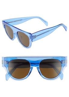 Celine Céline 52mm Pilot Sunglasses