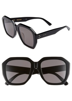 CELINE 53mm Square Sunglasses