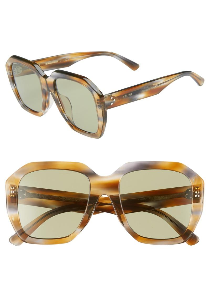 26ea6af1fca4c Celine CELINE 53mm Square Sunglasses