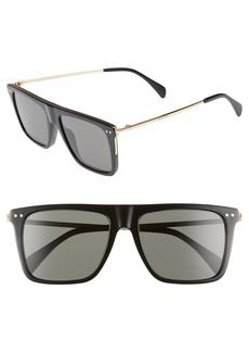 Celine Céline 54mm Polarized Flat Top Sunglasses