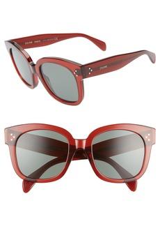 CELINE 54mm Round Sunglasses