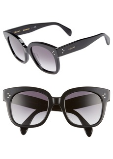 CELINE 54mm Square Sunglasses
