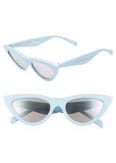 Celine Céline 56mm Cat Eye Sunglasses