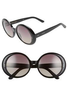 CELINE 57mm Gradient Round Sunglasses