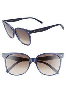 CELINE 57mm Round Sunglasses